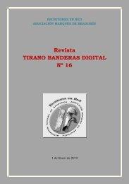 Revista TIRANO BANDERAS DIGITAL Nº 16 - escritores en red