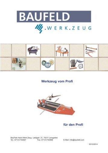 Katalog 2013-14.pdf - BauFeld