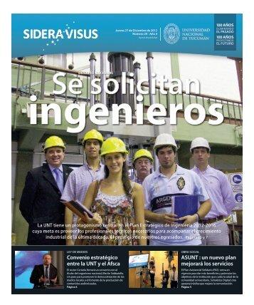 Bajar Sidera Visus Nro.29 - Noticias de la UNT - Universidad ...