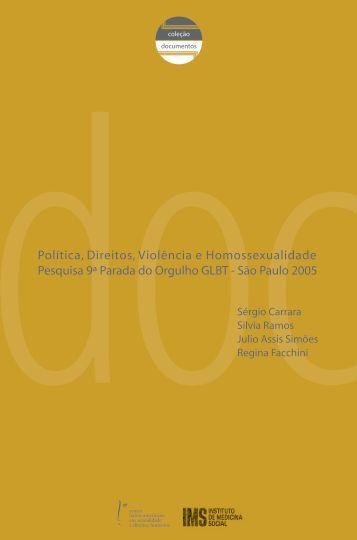 Política, Direitos, Violência e Homossexualidade - Núcleo de ...