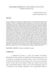 JUVENTUDES E CONSUMO: UM ESTUDO EMPÍRICO ... - Unicap
