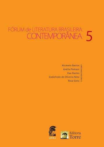 Samuel Carlos Melo - Forum de Literatura