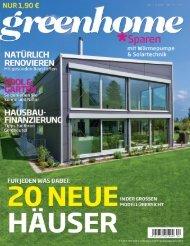 Greenhome 7-8/2012 - Baufritz