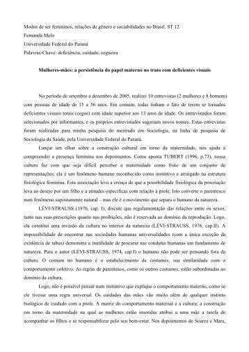 Universidade Federal do Paraná - Fazendo Gênero 10