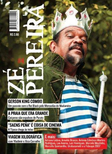 R$ 2,00 - Revista Zé Pereira