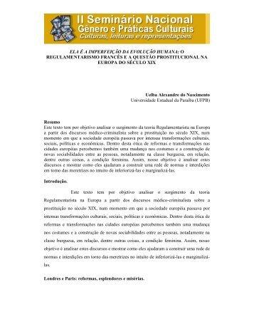 ELA É A IMPERFEIÇÃO DA EVOLUÇÃO HUMANA ... - Itaporanga.net