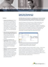 Supply Chain Management - Download Center - Microsoft