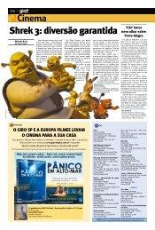 Shrek 3: diversão garantida - Jornal GIRO SP