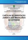 Cartilha de Orientação Jurídica aos Brasileiros no Exterior - Page 3