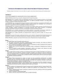convenção interamericana sobre o desaparecimento forçado de ...