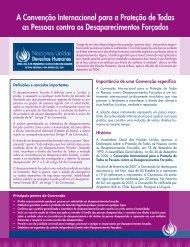 A Convenção Internacional para a Proteção de Todas as ... - acnudh