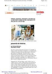 01/06/08 Na Revista da Folha - Viva o Centro