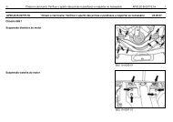 1 Chassi e carroceria: Verificar o aperto das porcas e parafusos e ...