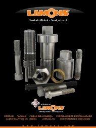Brochura de Fixadores e Parafusos Especiais - Lamons