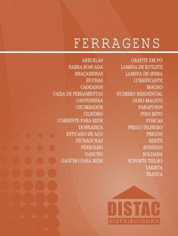 FERRAGENS - Distac
