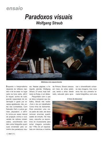 Paradoxos visuais - Wolfgang Straub