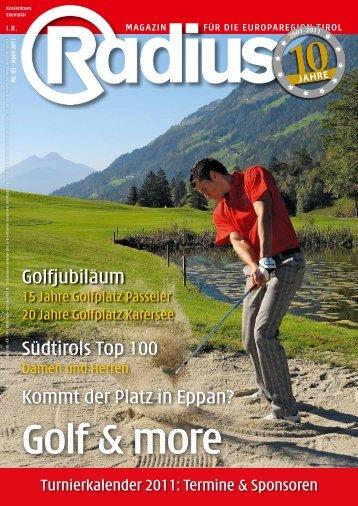 Radius Golf 2011