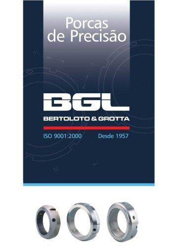 Porcas de precisão - BGL