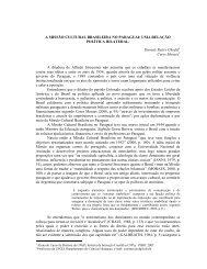 A MISSÃO CULTURAL BRASILEIRA NO PARAGUAI: UMA ...