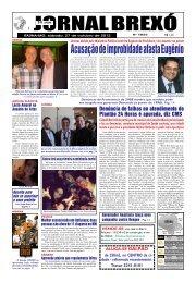 Acusação de improbidade afasta Eugênio - Jornal Brexó
