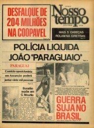 POLICIA LIQUIDA JOÃO « PARAGUAIO »1O - Nosso Tempo Digital
