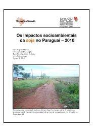 Os impactos socioambientais da soja no Paraguai ... - Repórter Brasil