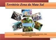 Território Zona da Mata Sul - SIT - Ministério do Desenvolvimento ...