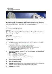 Protokoll der 24. ordentlichen Delegiertenversammlung des wgn ...