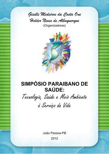 livro do simpósio - Instituto BioEducAção