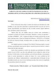 narrativas de educadoras no sertão paraibano - Itaporanga.net