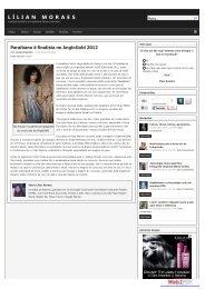 Paraibano é finalista no AngloGold 2012 - AuDITIONS Brasil