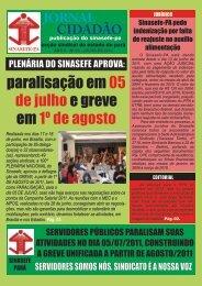 Jornal Cidadão - ANO V - N° 05 - JULHO DE - SINASEFE - PARÁ