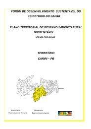 PB - SIT - Ministério do Desenvolvimento Agrário