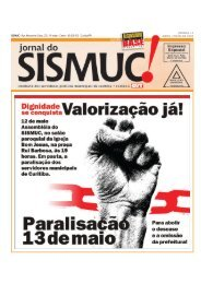 Jornal do Sismuc - Abril - Maio 2005.pmd - Dohms Web