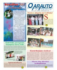 Coirmão paraguaio inaugura nova sede Festa e alegria na Colônia ...