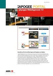 Apogee Portal WebApproval - Baumann