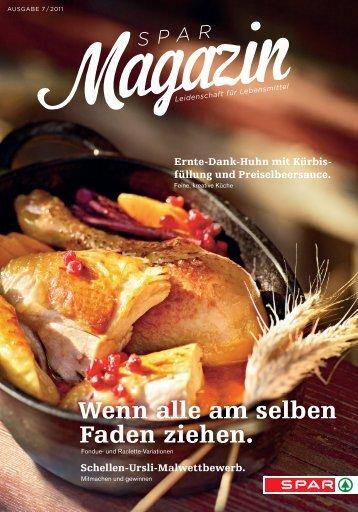 SPAR Schweiz - Magazin 07/11