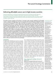 Delivering affordable cancer care in high-income countries