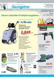 Angebotsflyer-Frühjahr 2009 - Baumgartner