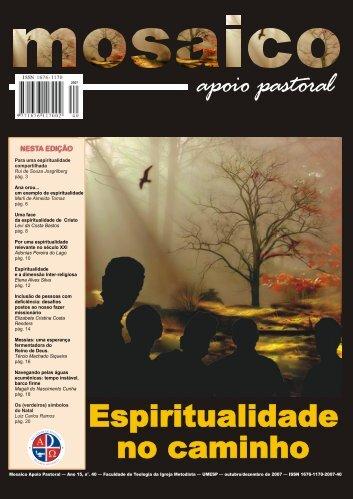 Mosaico Apoio Pastoral - Ano 15 - número 40