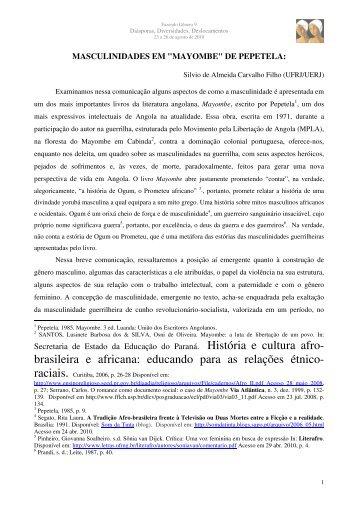 brasileira e africana - Fazendo Gênero 10