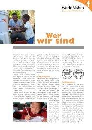 Portrait - World Vision Schweiz