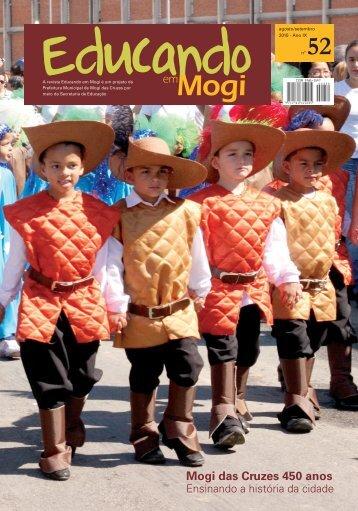 Mogi das Cruzes 450 anos - Secretaria Municipal de Educação ...