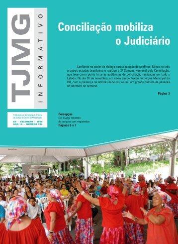 Conciliação Mobiliza o Judiciário - Tribunal de Justiça de Minas ...