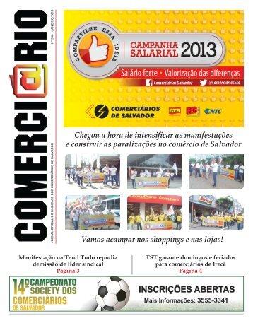 Edicao 536 - Sindicato dos Comerciários de Salvador