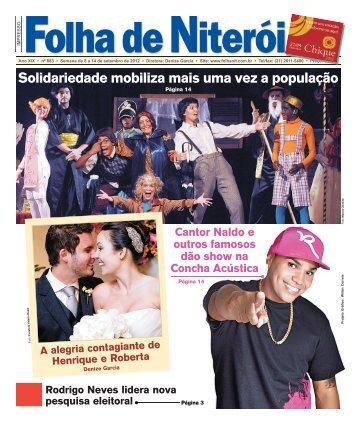 Solidariedade mobiliza mais uma vez a população - Folha de Niterói