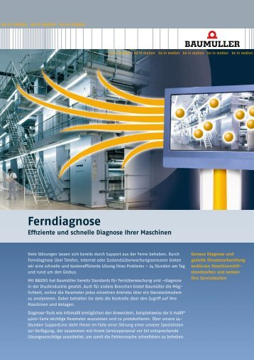 Ferndiagnose Deutsch 0,29 MB - Baumueller-services.com