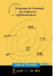 PROFA - Guia do Formador - Ministério da Educação