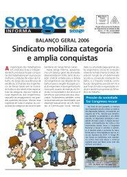 Sindicato mobiliza categoria e amplia conquistas - Senge-MG