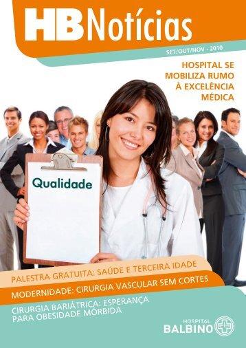 HOSpiTal SE mObiliza rUmO à ExcElêNcia médica - Hospital Balbino